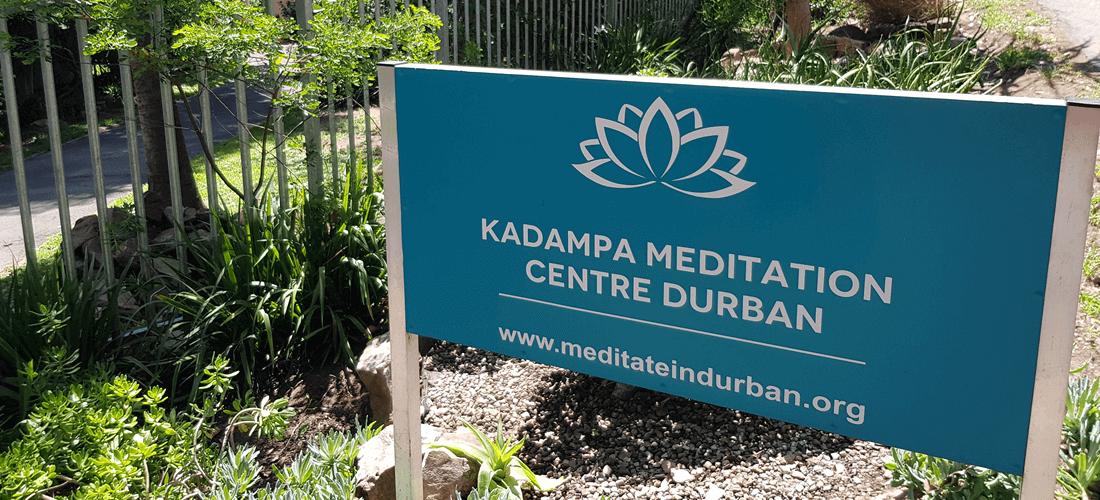 Westville Kadampa Meditation Durban Sign
