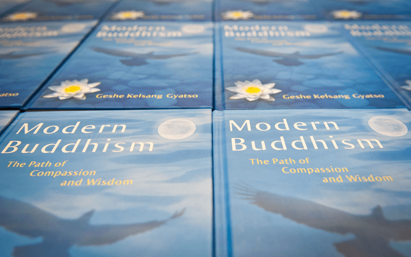 Modern Buddhism - The path of compassion and wisdom, a book from the tharpa publications
